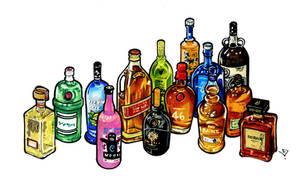 Bottle Service by RandomCushing