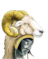 Ram Sees by RandomCushing