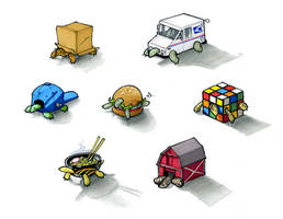I Like Turtles. by RandomCushing