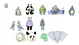Children's story design sheet by RandomCushing