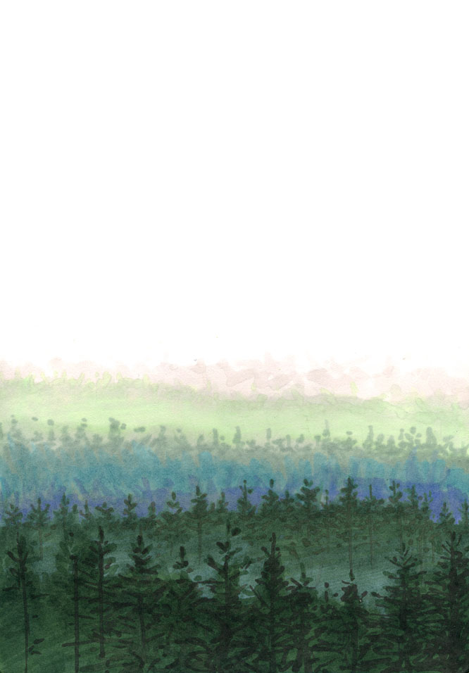 Forest Fade by RandomCushing