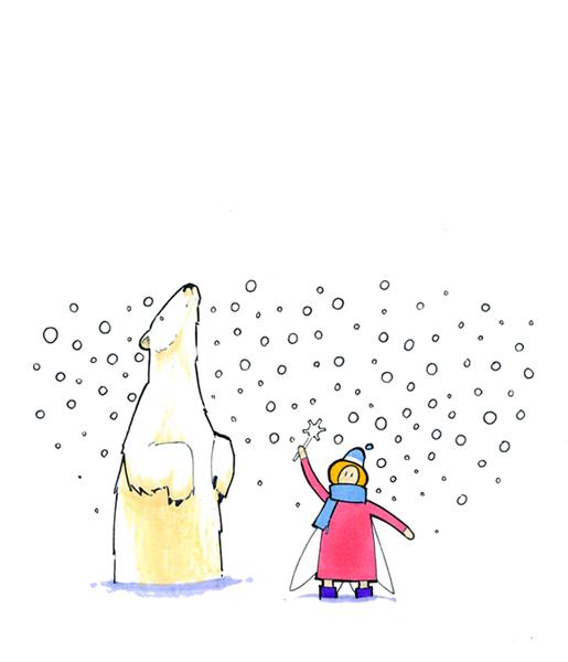 Snow Fairy of the North by RandomCushing