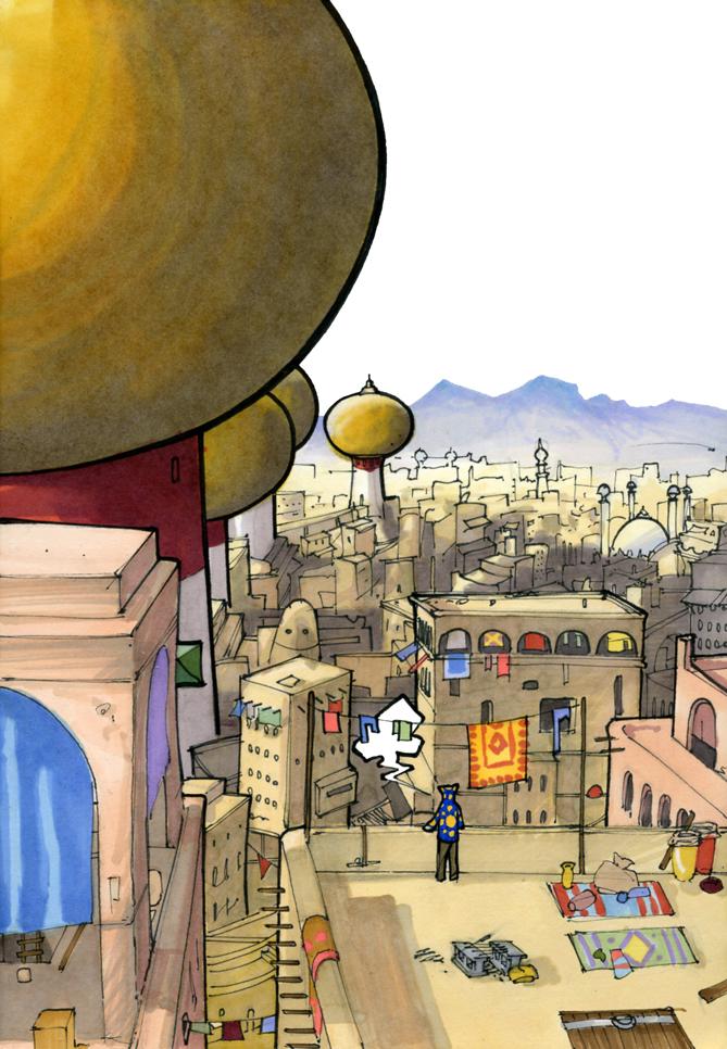 The City of Ou'r by RandomCushing