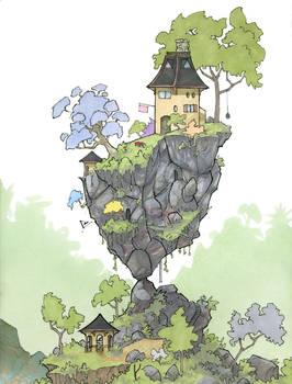 Tiny House Balance Pose