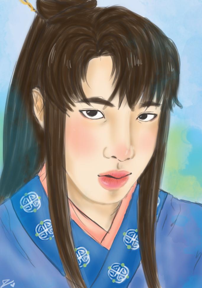 Jin Hwarang by Ogomi1995