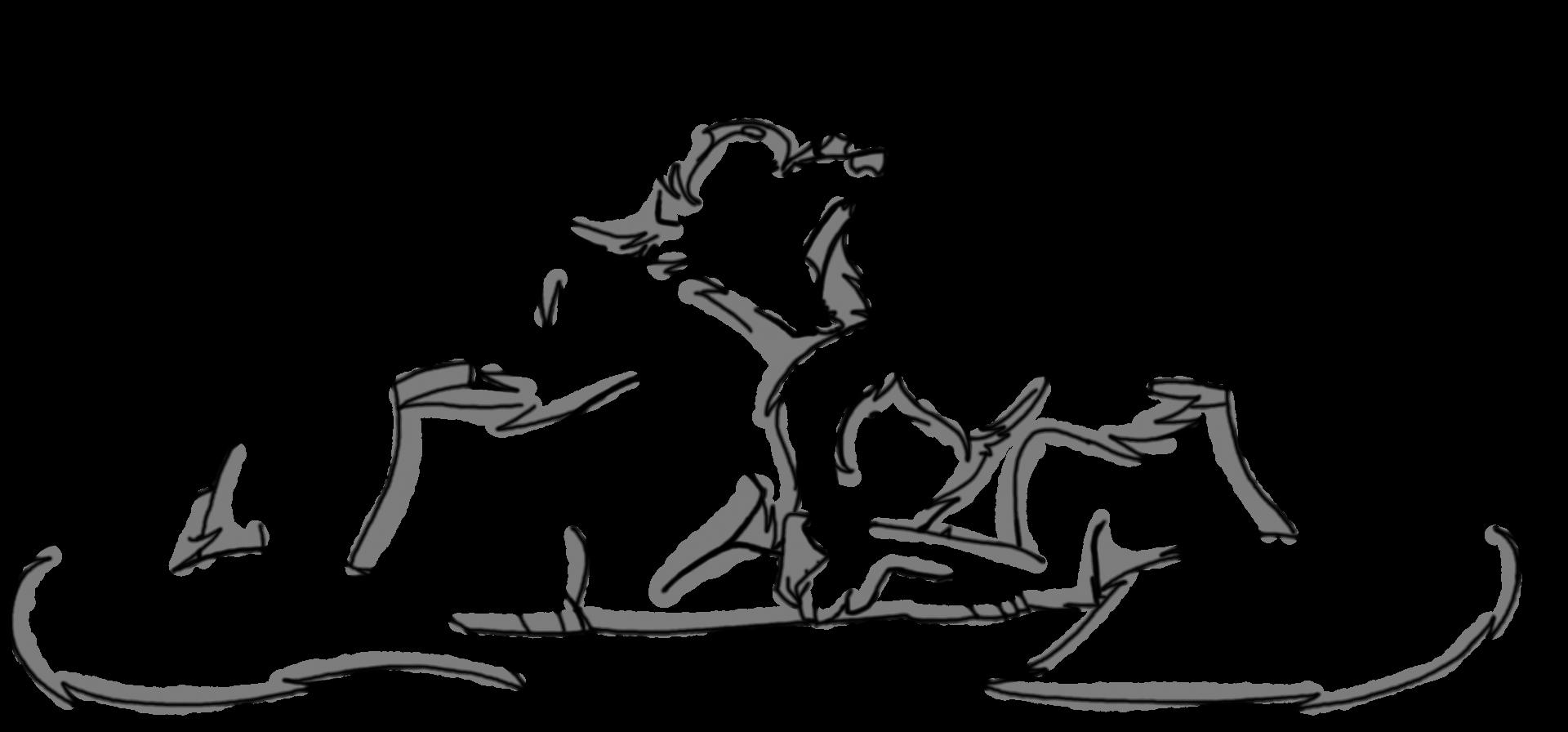 Sweepy Wolfies by CoffeeAddictedDragon