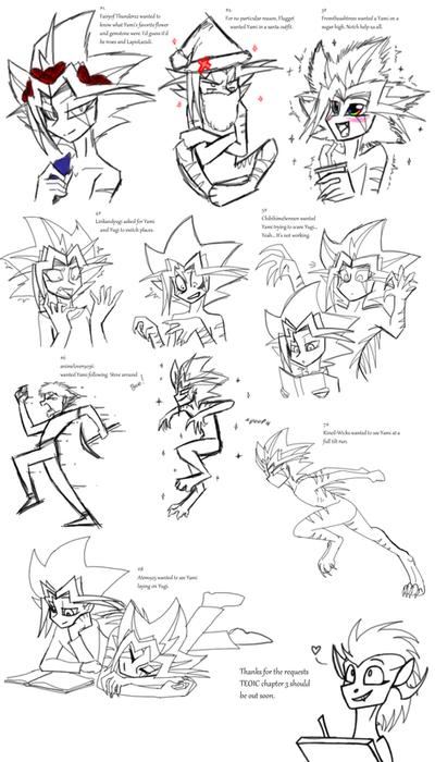 TEOIC Sketch Requests 2 by CoffeeAddictedDragon