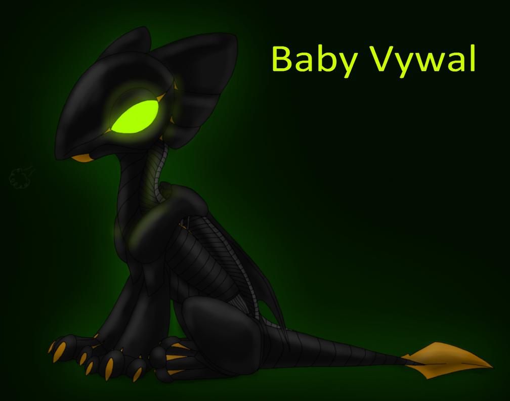 Baby Vywal by CoffeeAddictedDragon