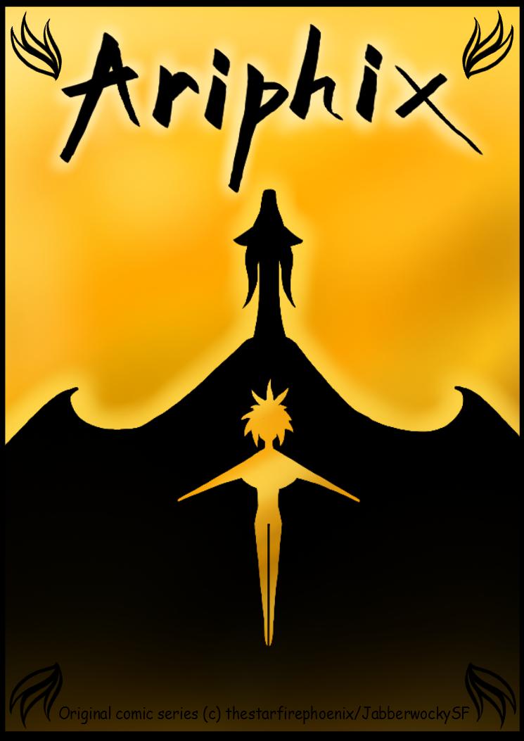 Ariphix Comic Cover by CoffeeAddictedDragon