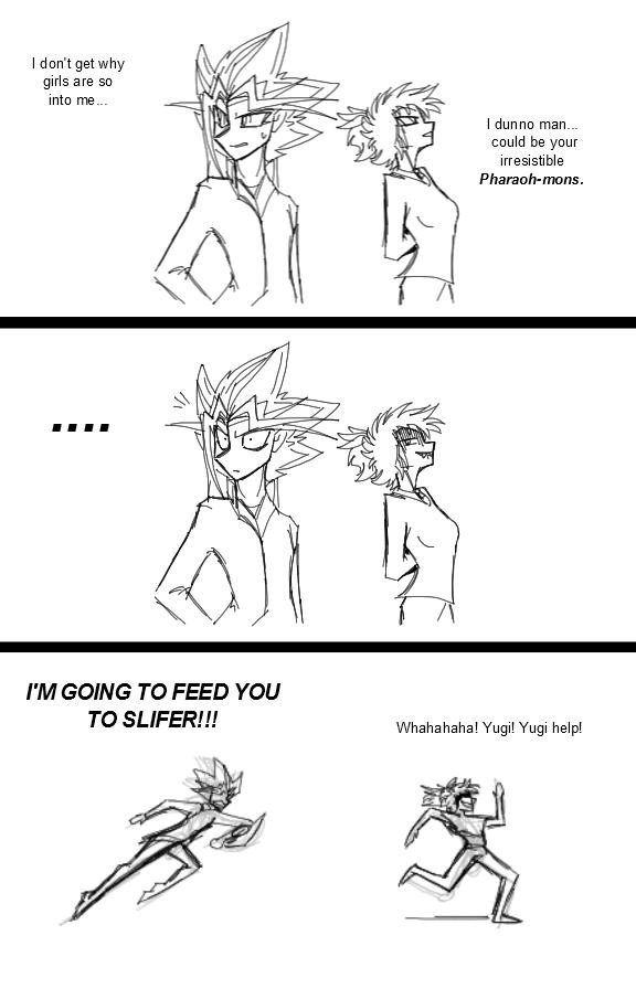 Yu-Gi-Oh-No she didn't! by CoffeeAddictedDragon