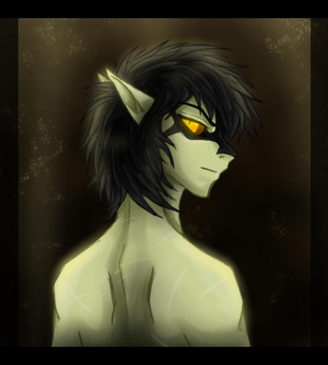 Enoch, the Altmer of the Dark by CoffeeAddictedDragon
