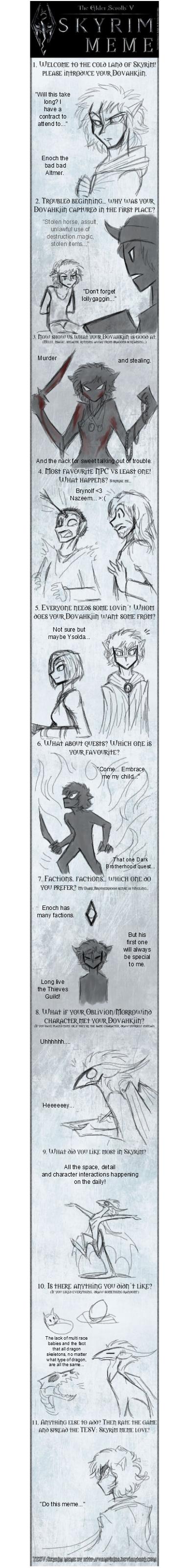 Enoch Skyrim Meme by CoffeeAddictedDragon