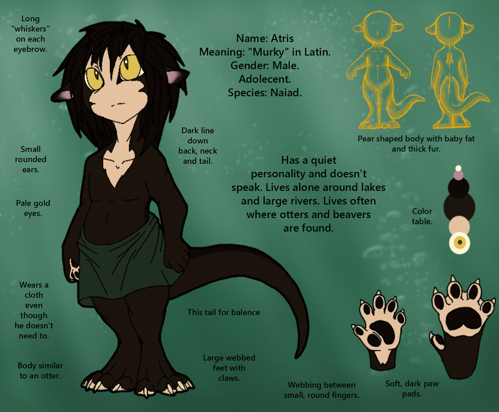 Atris Reference (Young) by CoffeeAddictedDragon