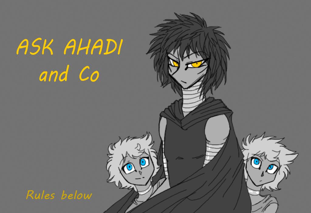 Ask Ahadi by CoffeeAddictedDragon