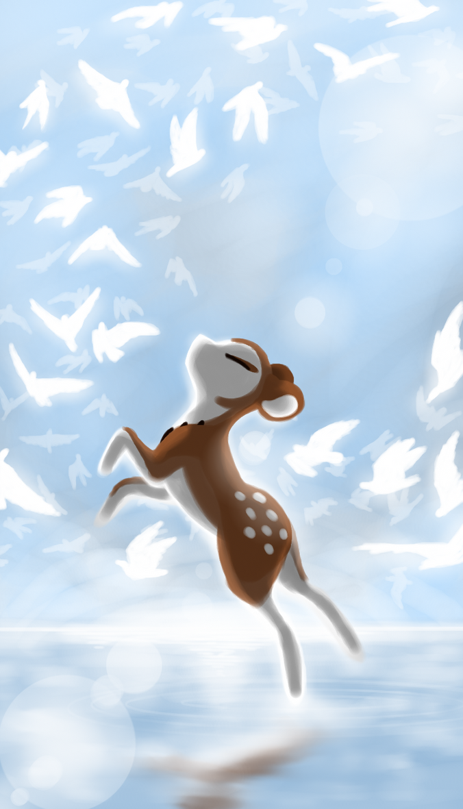 Light as a Feather by CoffeeAddictedDragon