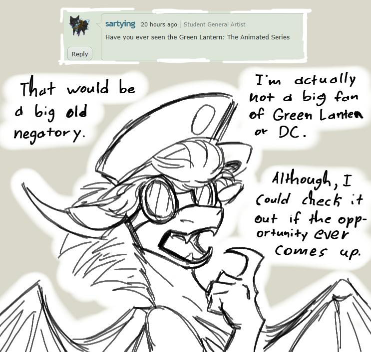 Question 13: Green Lantern by CoffeeAddictedDragon