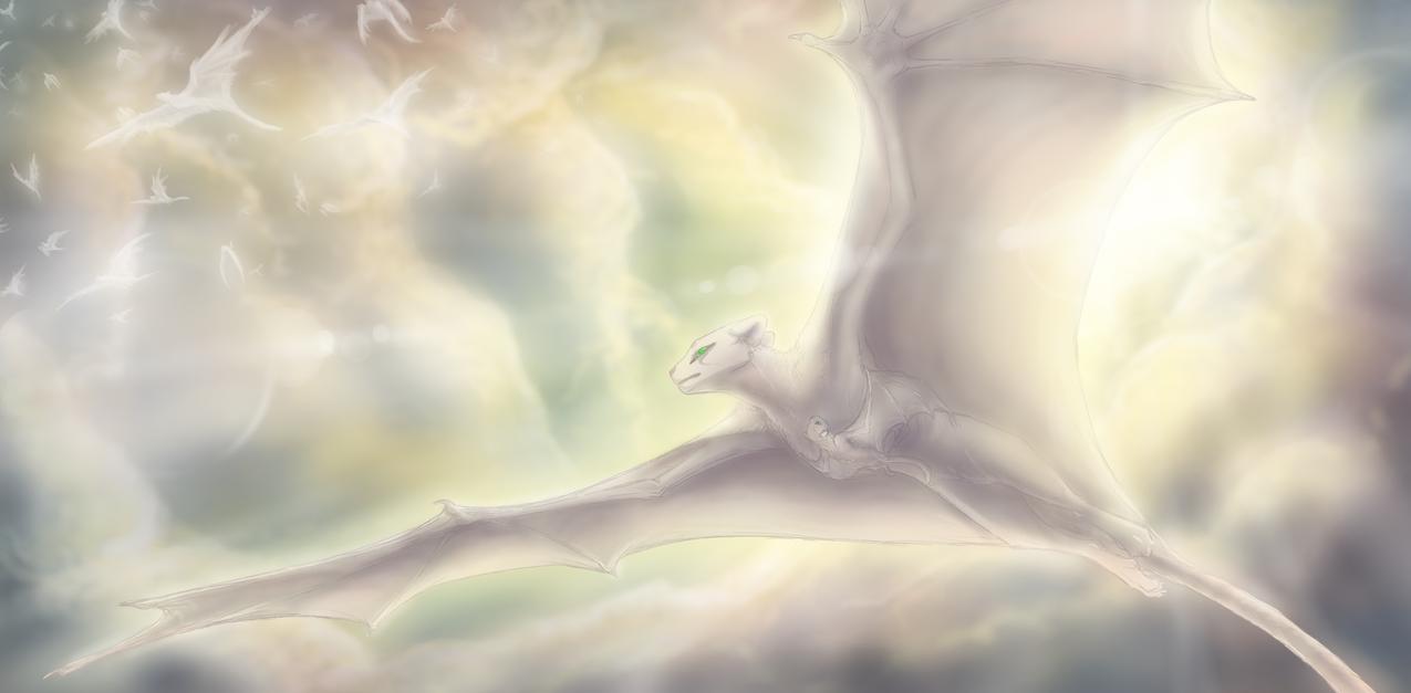 Airborne: Cloudcats by CoffeeAddictedDragon