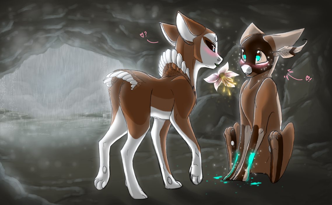 Staying Dry: Heartbonding Trial (EVOLOONS) by CoffeeAddictedDragon
