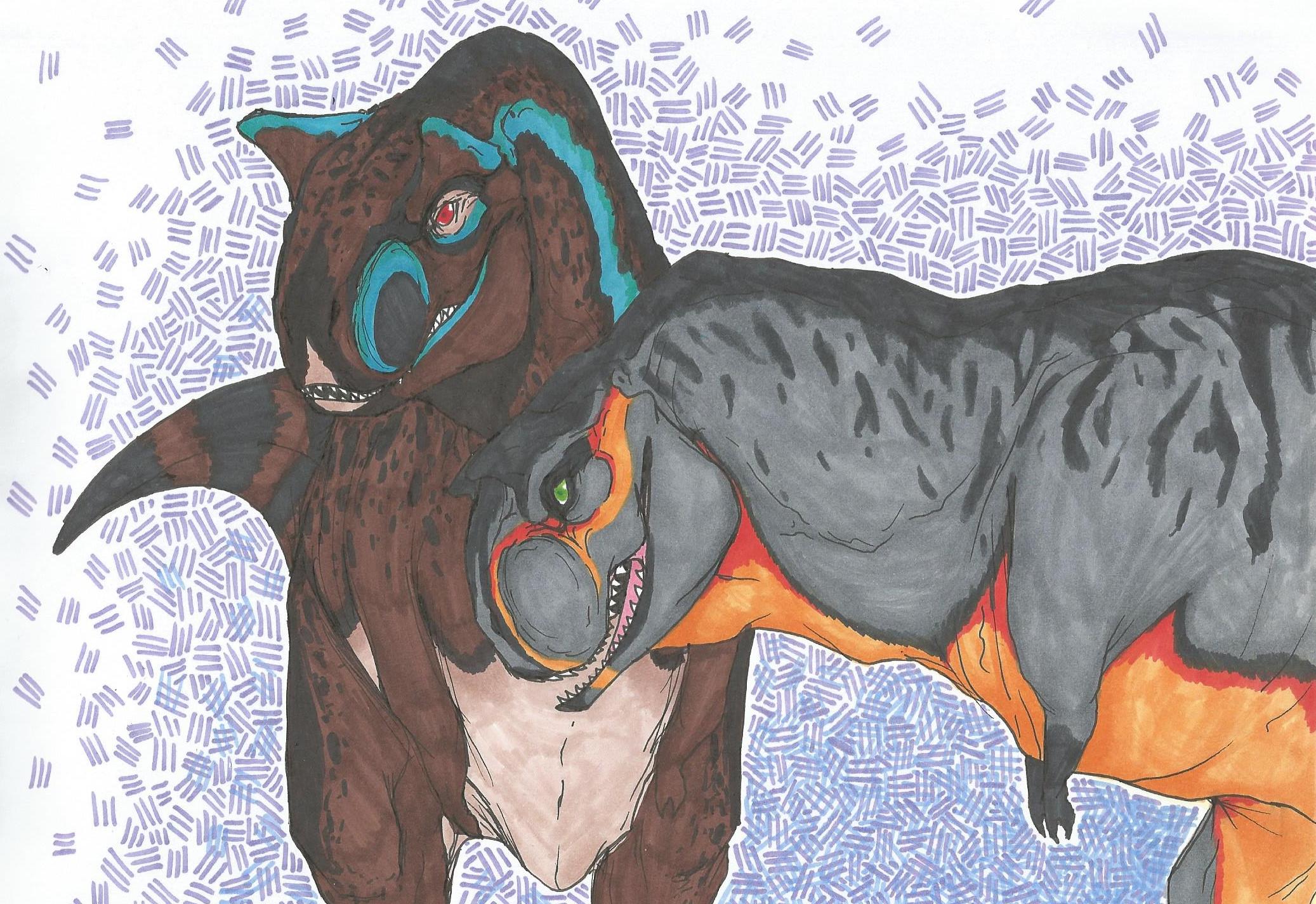 Blunt Forces (Carnosaurus) by CoffeeAddictedDragon