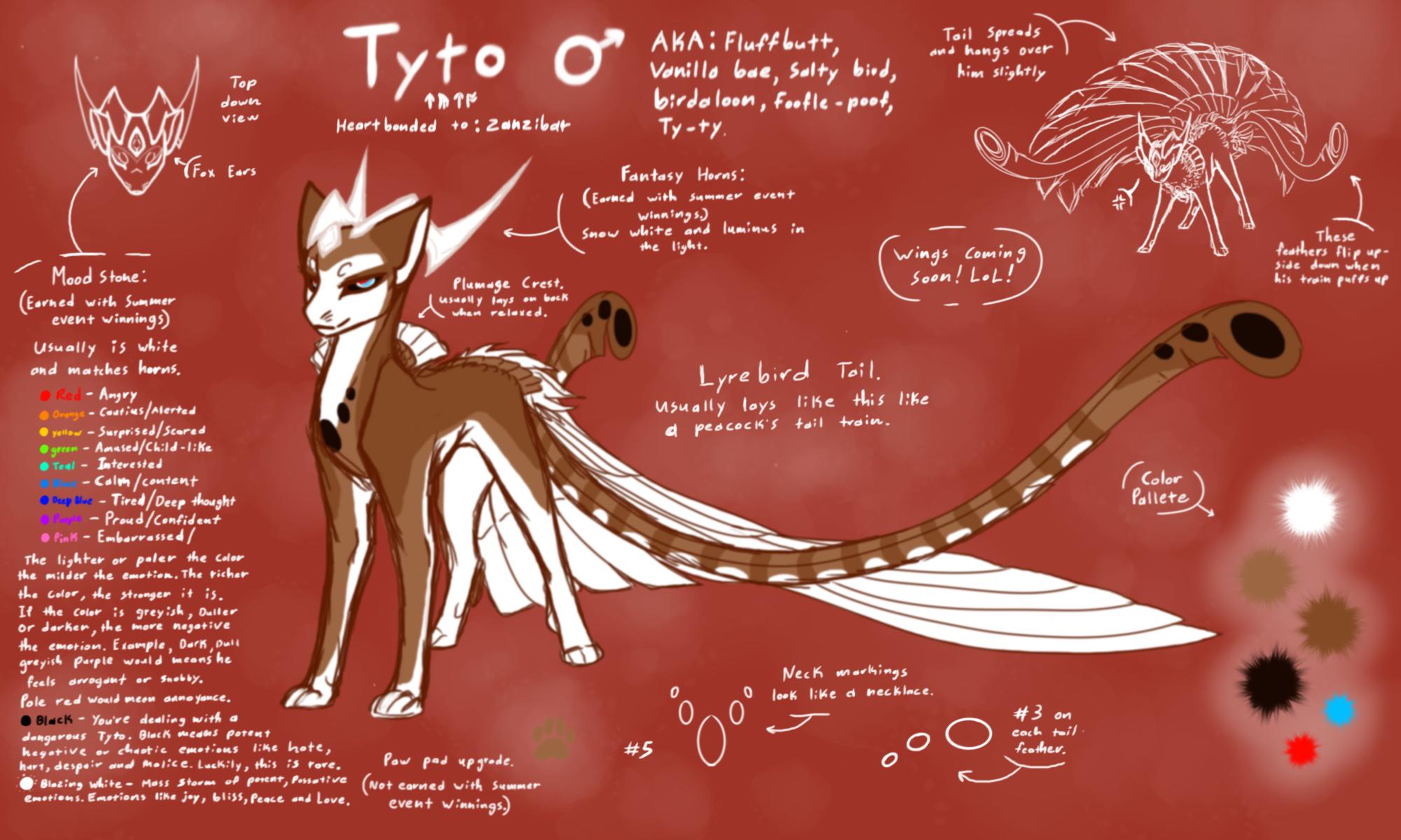 Tyto is getting REGAL by CoffeeAddictedDragon