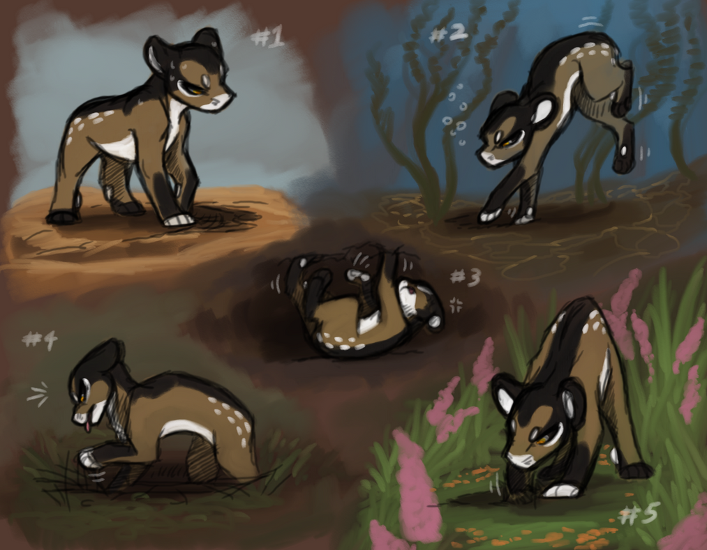 Ammit is At It With the Digging by CoffeeAddictedDragon