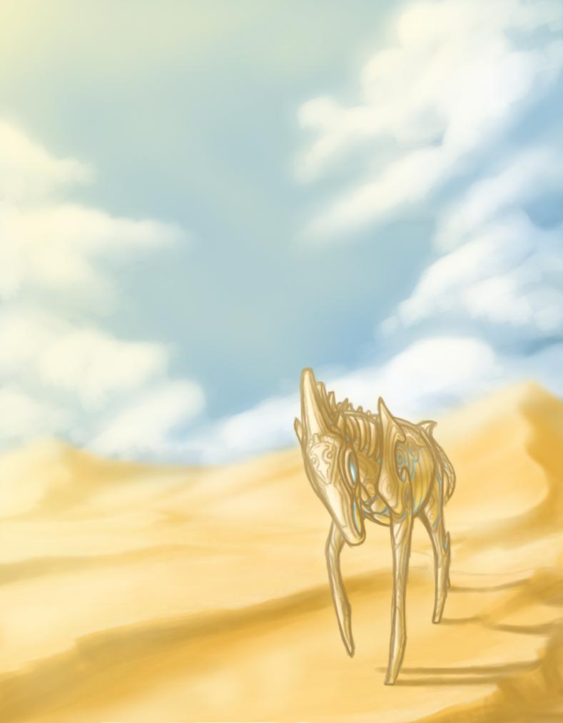 The Porcelain Horse by CoffeeAddictedDragon