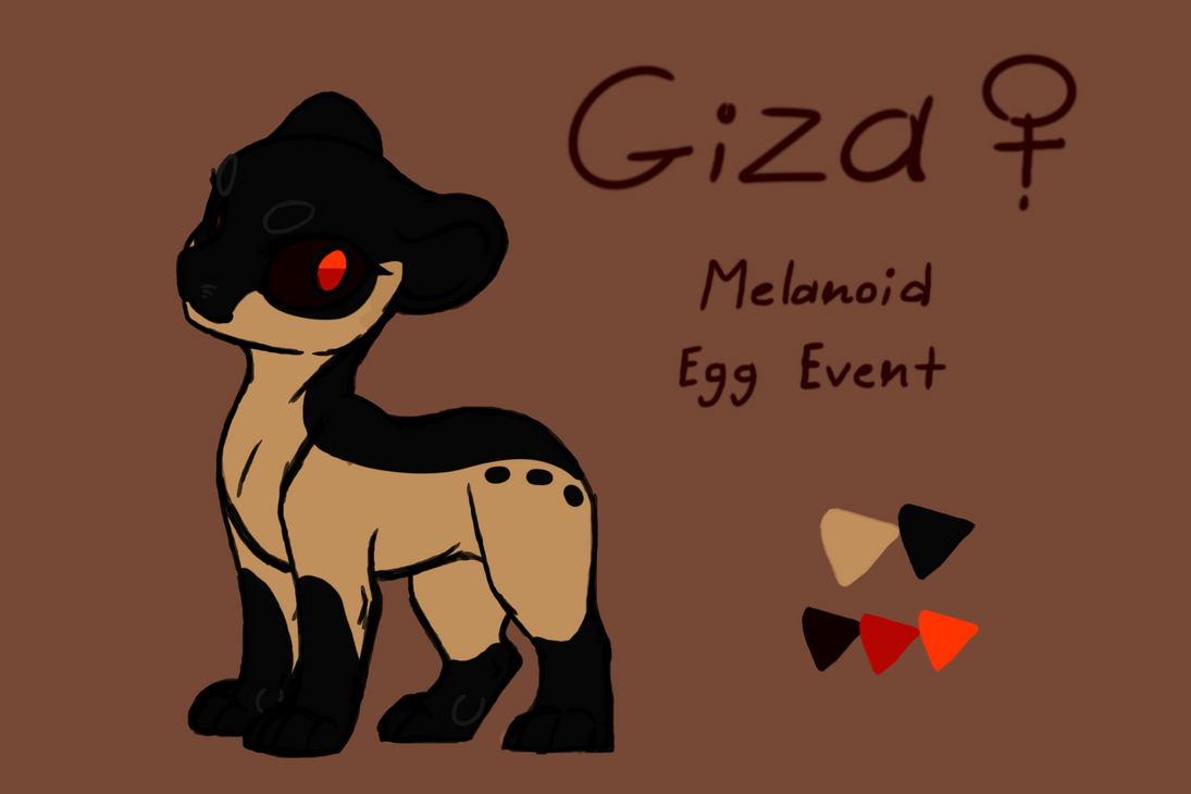 Giza Submission Melanoid (EVOLOONS) by CoffeeAddictedDragon