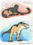 Prompt #34. Jurassic Time (EVOLOONS) by CoffeeAddictedDragon