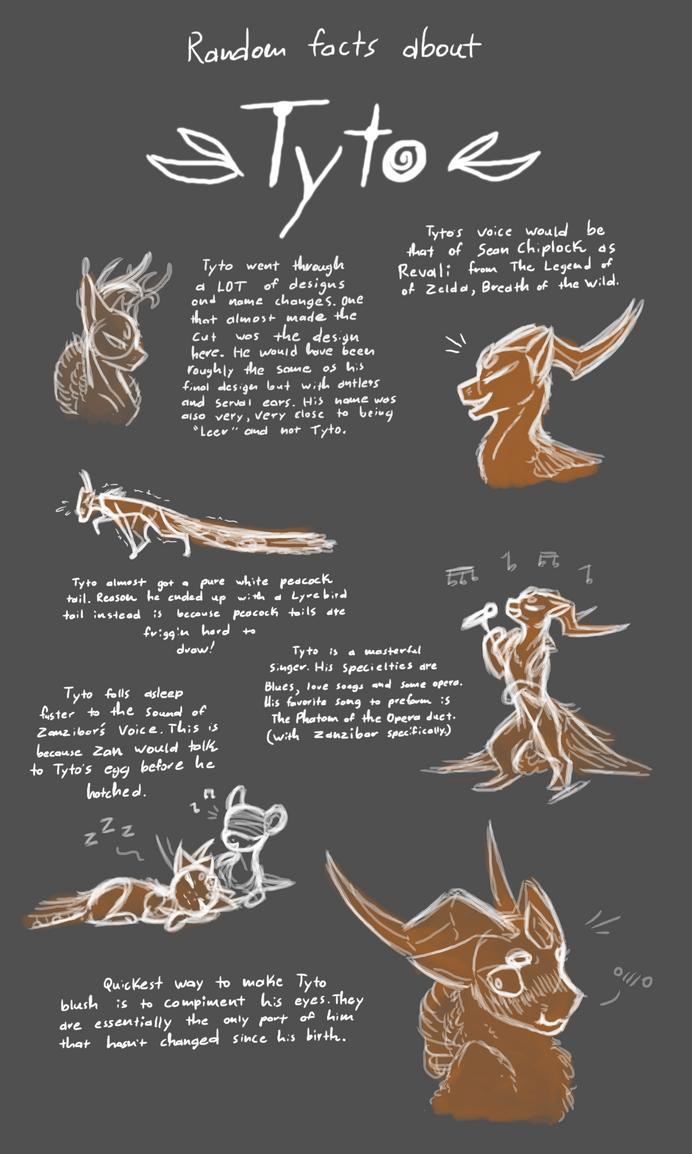 random facts about tyto evoloons by coffeeaddicteddragon on deviantart