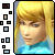 Free Zero-Suit Samus Avatar by SuperTuffPinkPuff