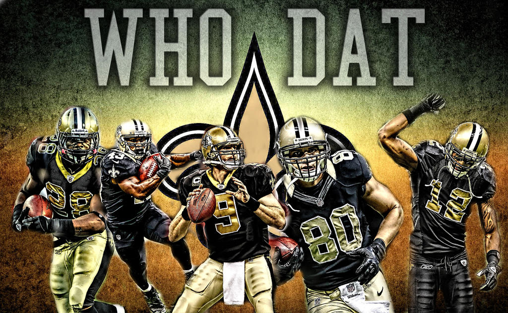 May Calendar New Orleans : New orleans saints wallpaper by tommyven