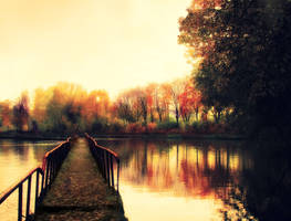 The Bridge in Autumn by Igor665
