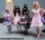 Anime Boston 2013 sweet lolitas