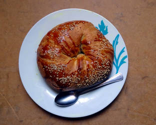 piece of bread by samo19