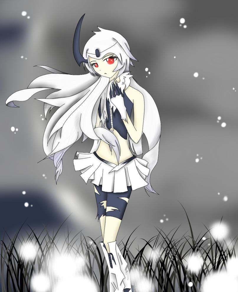 Pokémon !! Absol_gijinka___girl_version_by_weirdogurlowo-d30zvu1