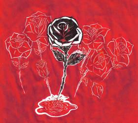 Red Tears by LostInOdyssey