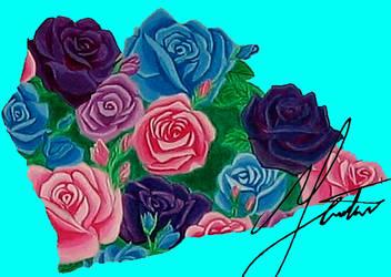 Shattered Rose Garden Piece 01 by LostInOdyssey