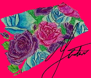 Shattered Rose Garden Piece 02 by LostInOdyssey