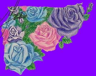 Shattered Rose Garden Piece 05 by LostInOdyssey