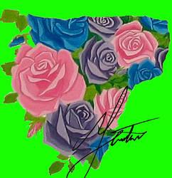Shattered Rose Garden Piece 06 by LostInOdyssey