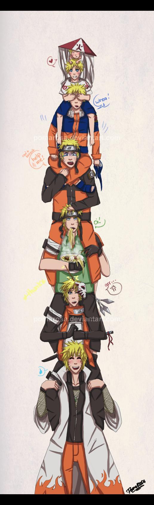 Naruto by Pomarosa