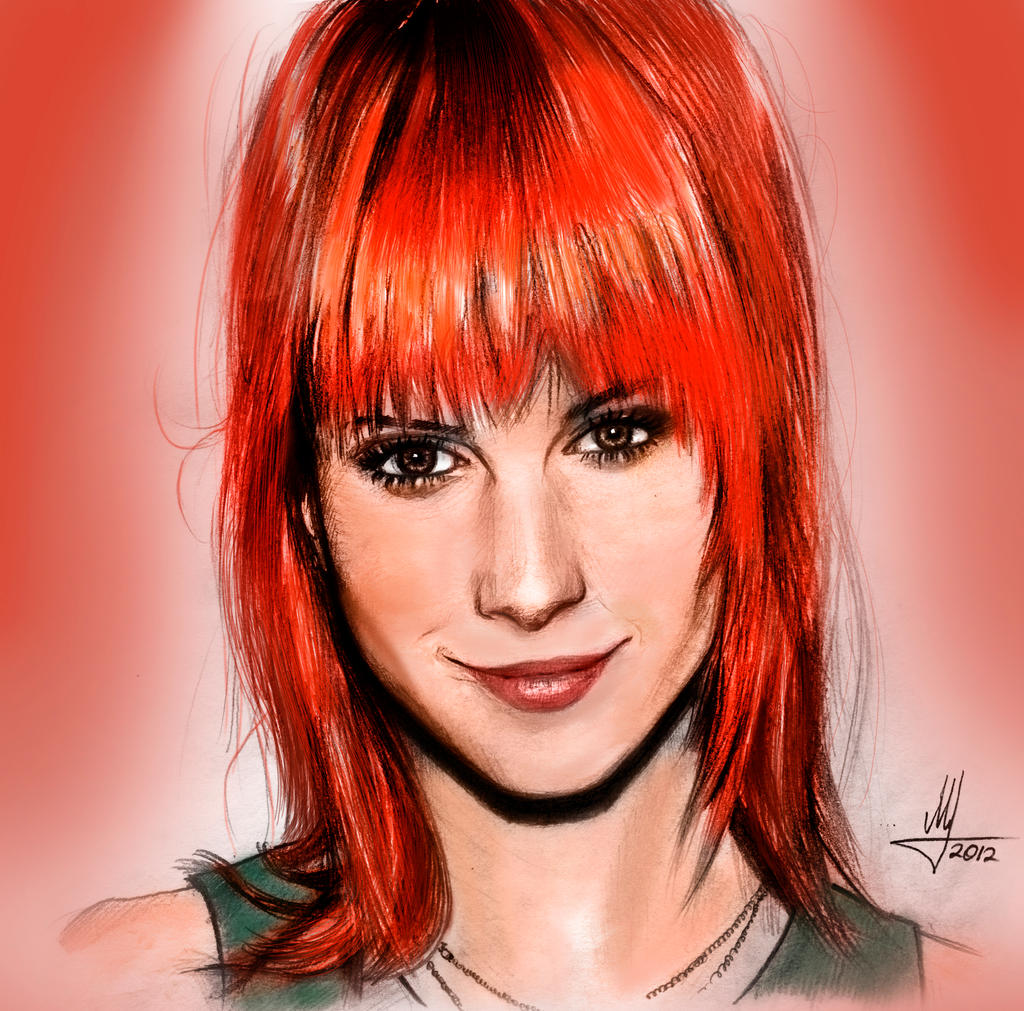 Hayley Williams by AndPCH