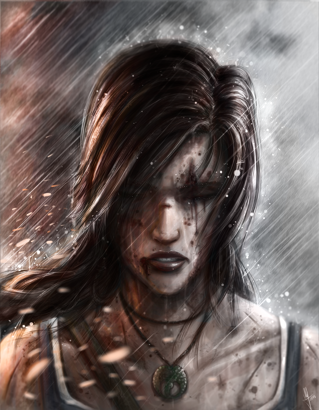 Lara Croft by AndPCH