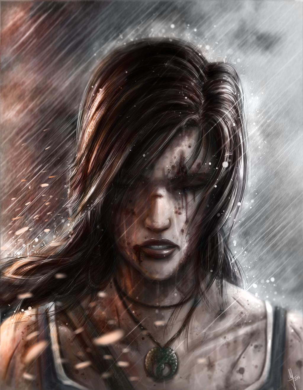 Lara Croft by AndWhatArt