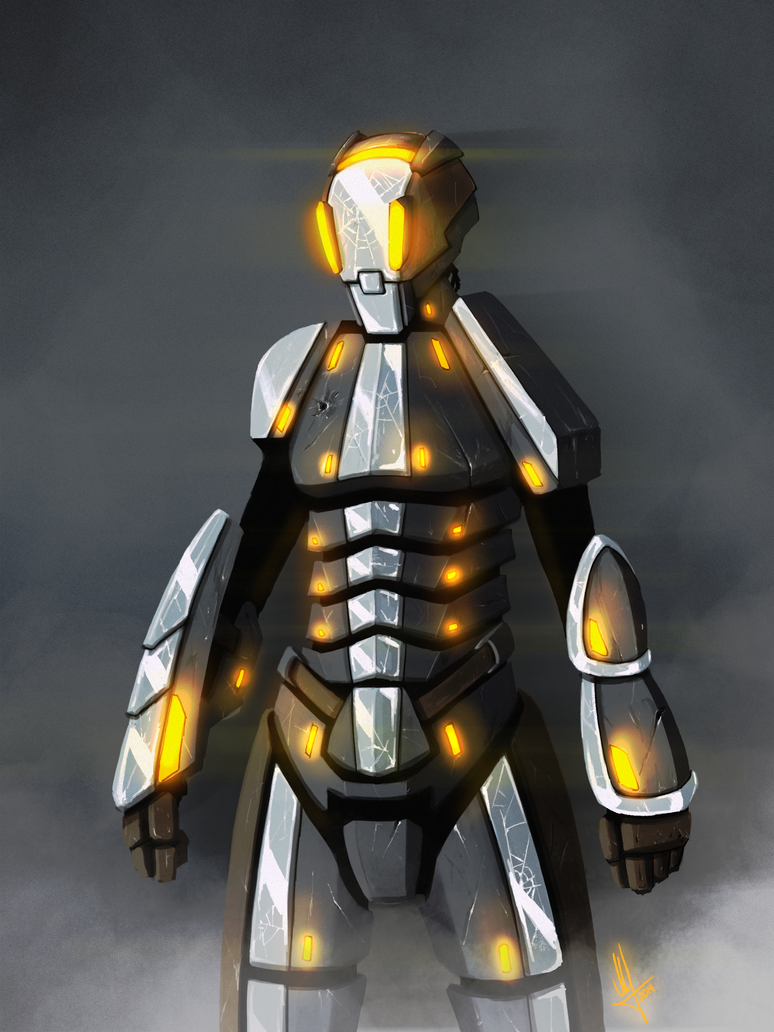 Sci-Fi Soldier sketch by AndPCH