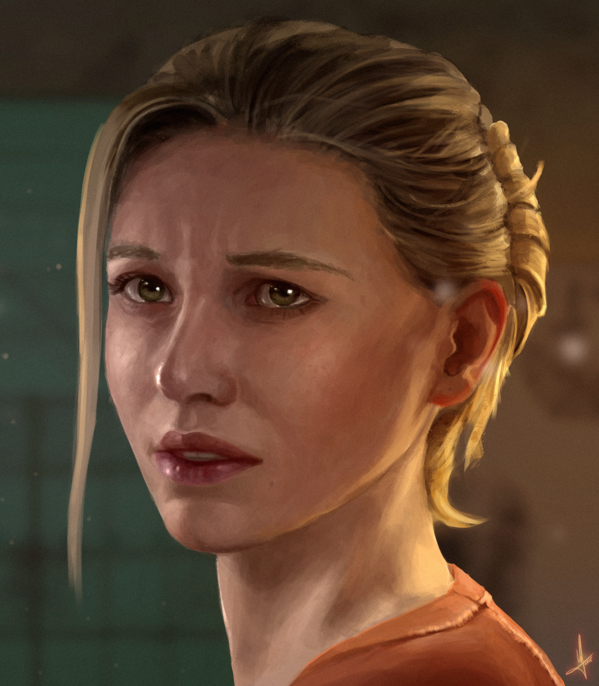 Elena Fisher Uncharted 4 By AndWhatArt