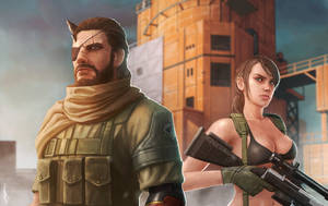 Metal Gear Solid V by AndWhatArt
