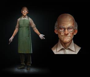 Dr. Henrik Ottmeyer / Villain by AndWhatArt