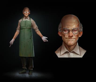 Dr. Henrik Ottmeyer / Villain