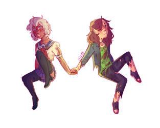 Felix and Kistch by Beau-emo